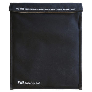 FWR Faraday Bag medium, 3.Gen. Front