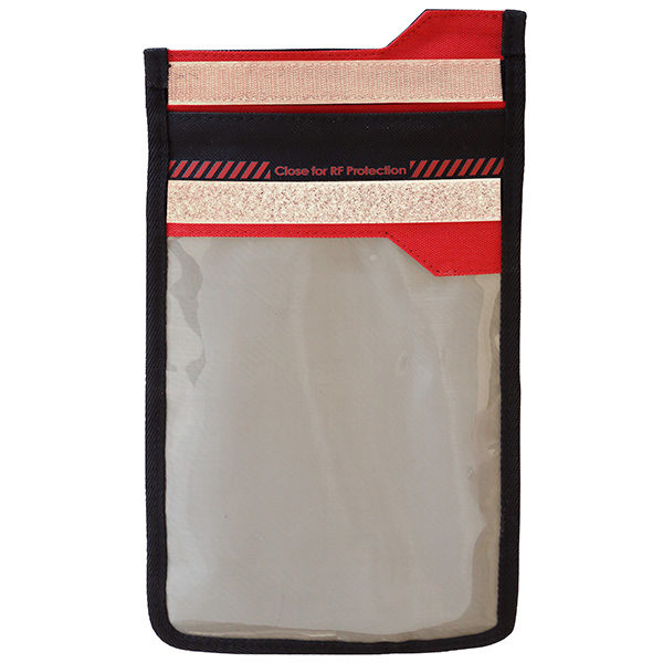 SmartPhone Shield Faraday Bag mit Fenster front